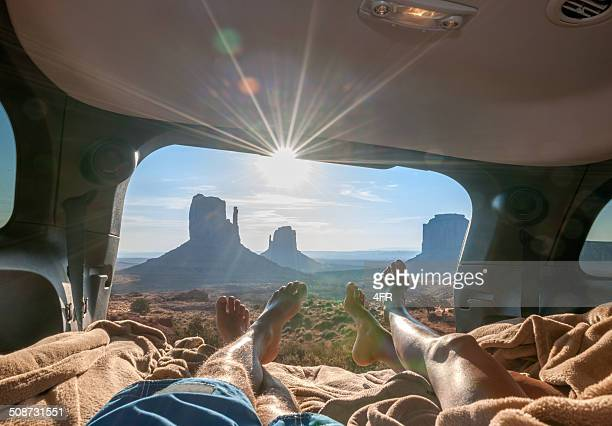 Le Camping, le Monument Valley