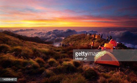 Camping : Stock Photo