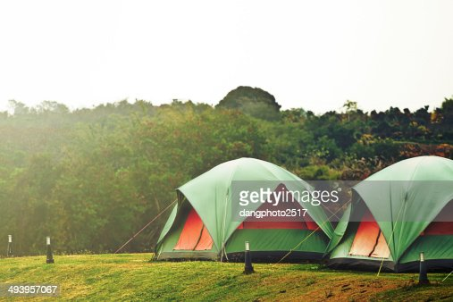 Camping tent : Stock Photo