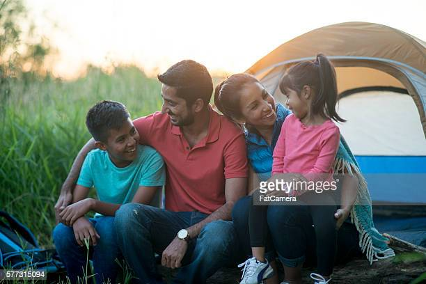 Camping Together as a Family