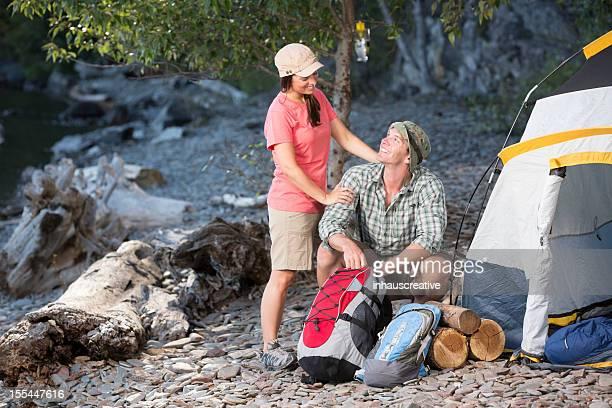 Camping-Ausflug