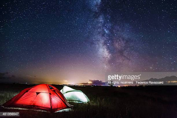 Camping Under the Milky