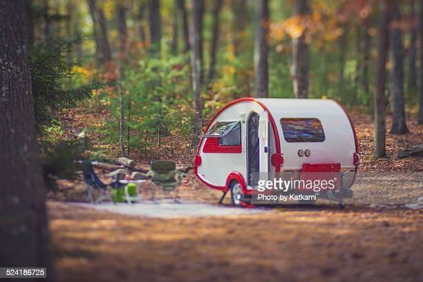 Camping with a teardrop trailer