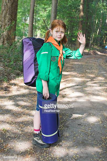 Camping with scouts
