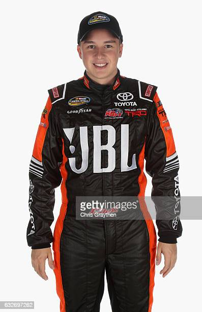 Camping World Truck Series driver Christopher Bell poses for a photo during the 2017 Media Tour at the Charlotte Convention Center on January 25 2017...
