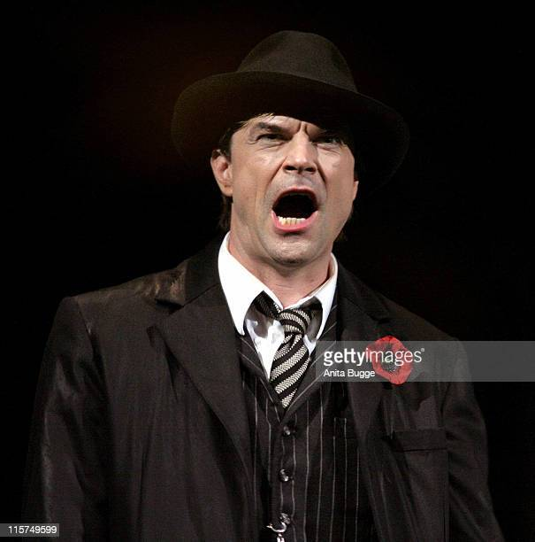 Campino during 'Dreigroschenoper' Dress Rehearsal at Admiralspalast in Berlin Berlin Germany