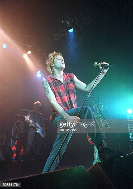 Campino of Die Toten Hosen performing on stage at The Forum Kentish Town London 30 October 1994