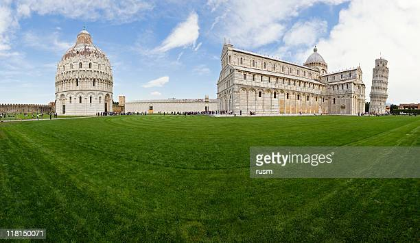 Campo Dei Miracoli panorama, Pisa, Italy