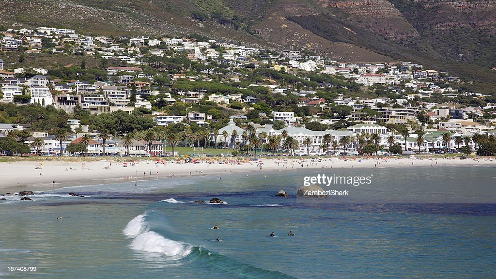 Camps Bay Beach : Stock-Foto