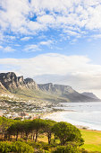 Camps Bay Coast underneath Table Mountain Cape Town South Africa
