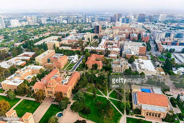 UCLA campus in Los Angeles, California - aerial view