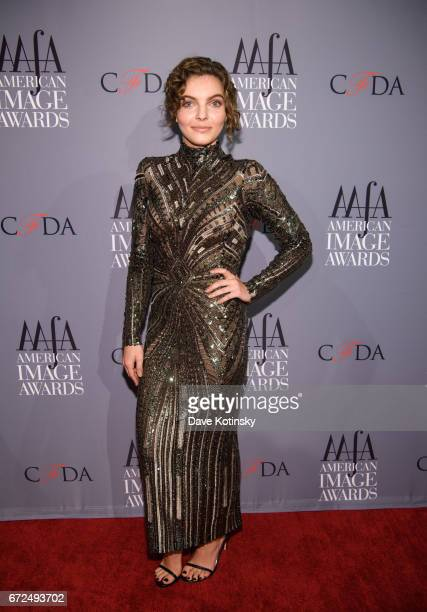 Camren Bicondova arrives at the American Apparel Footwear Association's 39th Annual American Image Awards 2017 on April 24 2017 in New York City