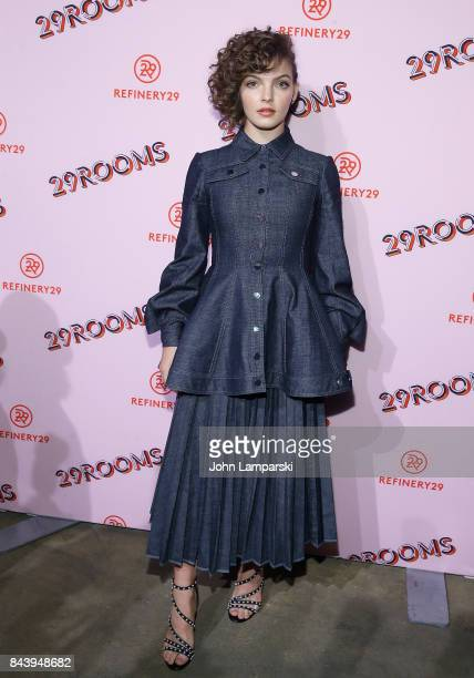 Camren Bicondova attends 29Rooms opening night 2017 on September 7 2017 in New York City