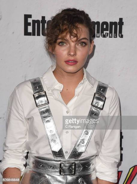 Camren Bicondova attends Entertainment Weekly's annual ComicCon party in celebration of ComicCon 2017 at Float at Hard Rock Hotel San Diego on July...