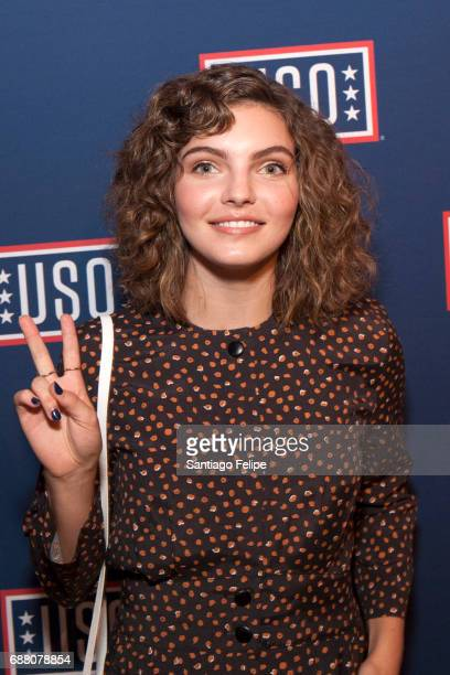Camren Bicondova attends Fleet Week NY 2017 Official KickOff Party at Hard Rock Cafe New York on May 24 2017 in New York City