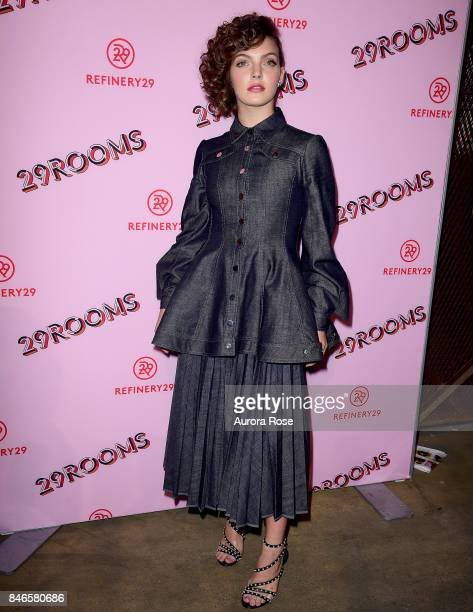 Camren Bicondova attends Refinery29's '29Rooms Turn It Into Art' at 106 Wythe Ave on September 7 2017 in New York City