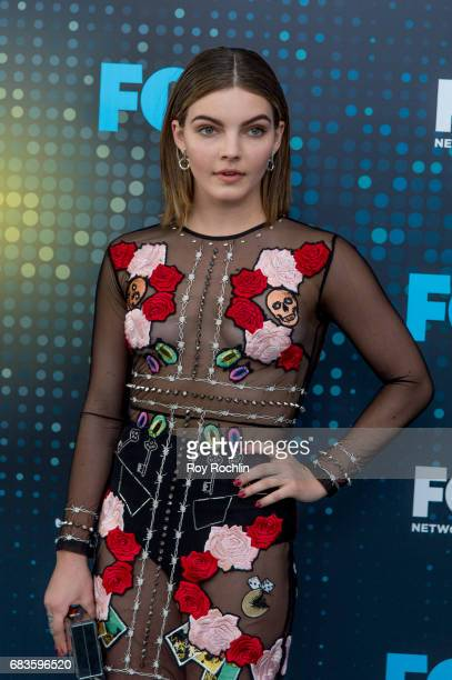 Camren Bicondova attends the 2017 FOX Upfront at Wollman Rink Central Park on May 15 2017 in New York City