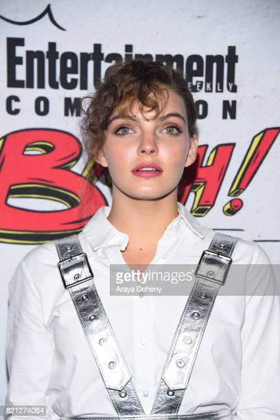 Camren Bicondova attends the Entertainment Weekly's Annual ComicCon Party 2017 at Float at Hard Rock Hotel San Diego on July 22 2017 in San Diego...