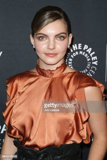 Camren Bicondova attends The Paley Honors Celebrating Women in Television at Cipriani Wall Street on May 17 2017 in New York City