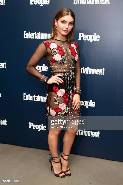 Camren Renee Bicondova attends the Entertainment Weekly and PEOPLE Upfronts party presented by Netflix and Terra Chips at Second Floor on May 15 2017...