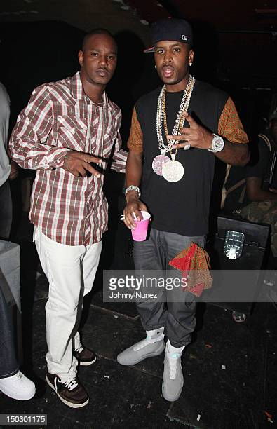 Cam'ron and SB attend Nicki Minaj Pink Friday Tour at Roseland Ballroom on August 14 2012 in New York City