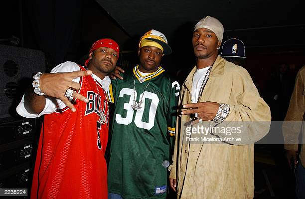 Cam'Ron backstage at the 2002 MTV Fashionably Loud show at Roseland Ballroom in New York City Wednesday October 30 2002 Photo by Frank...