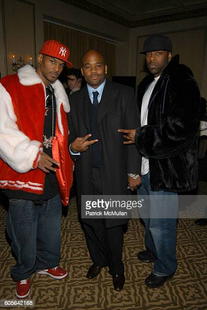 Cam'ron Damon Dash and Bryan M attend Afterparty for the MARC JACOBS Fall 2006 Fashion Show at 24 Fifth Ave on February 6 2006 in New York
