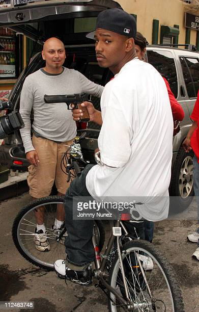 Camron during Behind The Scenes Of Killa Season Day 2 16 August 2005 at 109th 2nd Avenue in New York New York United States