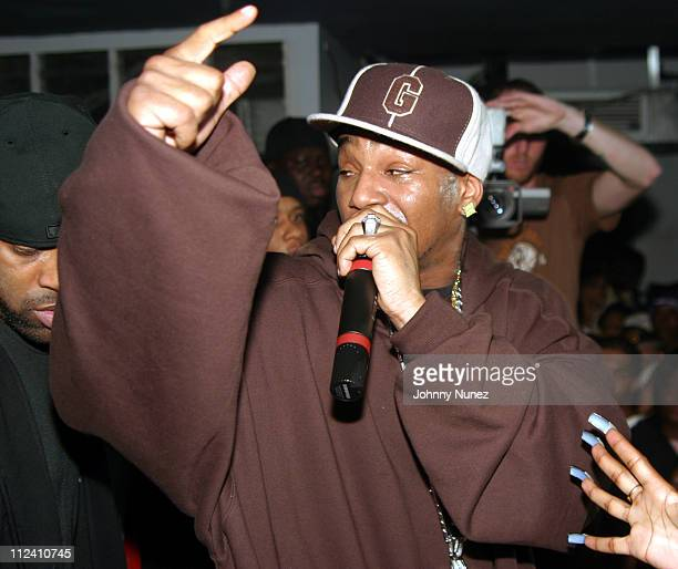 Camron during Camron in Concert with Special Guests Dipset and Kanye West January 4 2005 at Speed in New York City New York United States