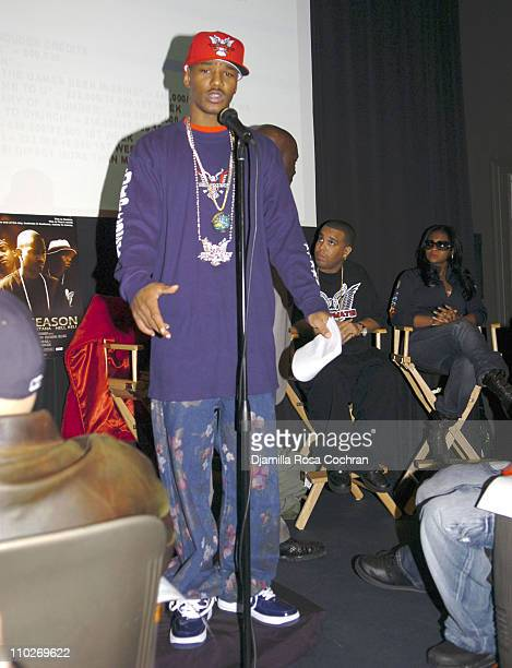 Cam'ron during Cam'Ron Press Conference January 25 2006 at Tribeca Cinemas in New York City New York United States