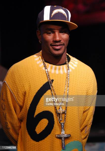 Cam'ron during Cam'ron Visits Fuse's Daily Download December 7 2004 at Fuse Studios in New York City New York United States