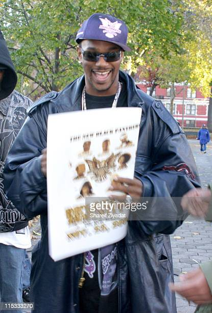 Cam'ron during Dipset Shoots New Video for 'Crunk' at Marcus Zager Park in New York City New York United States