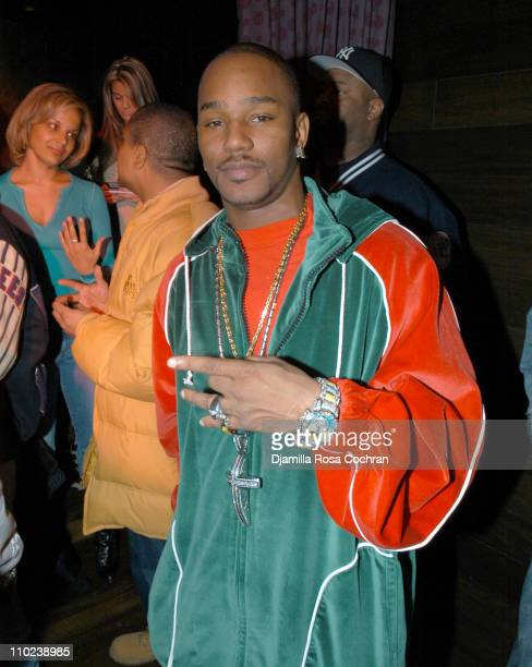 Cam'ron during Patricia Field for the House of Rocawear Lounge at Ono at the Hotel Gansevort in New York City New York United States