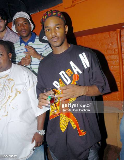 Cam'ron during The Bud Light Overtime 2nd Annual Draft Party hosted by Carmelo Anthony and DJ Clue at Pacha in New York City New York United States