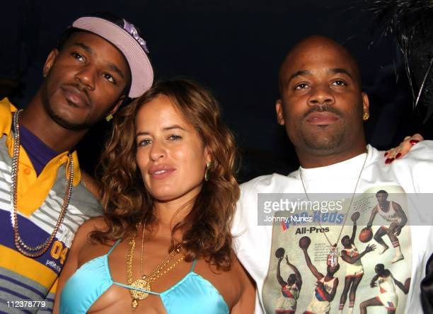 Camron Jade Jagger and Damon Dash during Damon Dash Hosts After Party For Jade Jagger With Armandale Vodka at NA Nightclub in New York City New York...