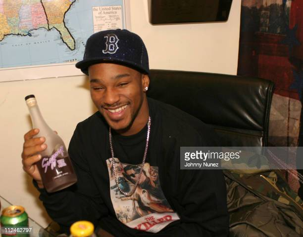 Cam'Ron of Dip Set during New Era Caps Celebrity Design Session Featuring Dip Set at Def Jam Offices in New York City New York United States