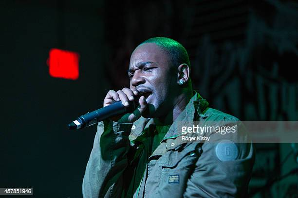 Cam'ron performs onstage during Day 2 of the Fader Fort presented by Converse at Converse Rubber Tracks Studio on October 24 2014 in Brooklyn New York