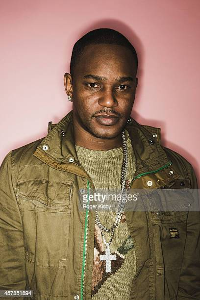 Cam'ron poses for a portrait backstage during Day 2 of the Fader Fort presented by Converse at Converse Rubber Tracks Studio on October 24 2014 in...