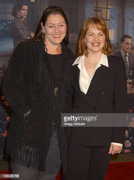 Camryn Manheim and Deirdre Lovejoy during Los Angeles Premiere of HBO's 'Six Feet Under' at Grauman's Chinese Theatre in Hollywood California United...