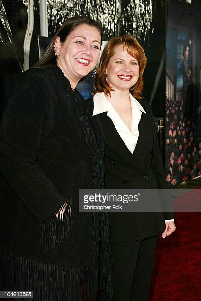 Camryn Manheim and Deirdre Lovejoy during LA Premiere of HBO's series Six Feet Under at Grauman's Chinese Theatre in Hollywood CA United States