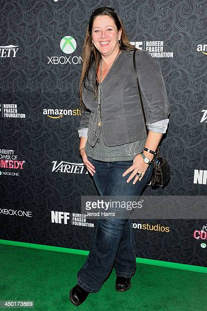 Camryn Manheim arrives at Variety's 4th Annual Power of Comedy at the Avalon on November 16 2013 in Hollywood California