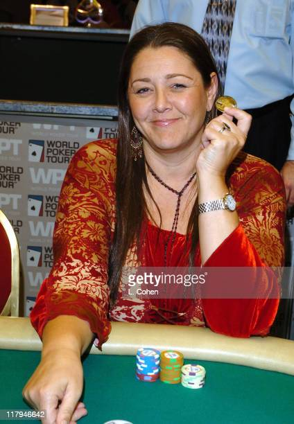 Camryn Manheim during 2005 World Poker Tour Invitational Inside at Commerce Casino in City of Commerce California United States