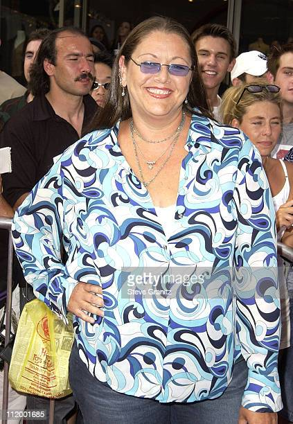 Camryn Manheim during 'American Idol' Season 1 Finale Results Show Arrivals at Kodak Theater in Hollywood California United States