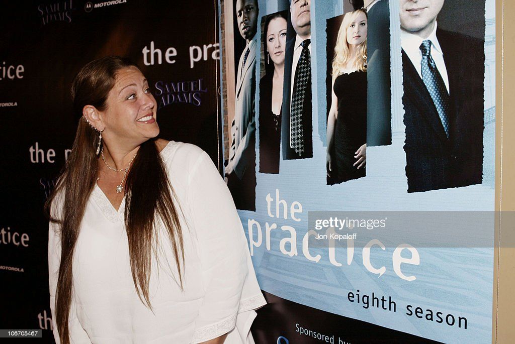 Camryn Manheim during David E. Kelley and the cast of ABC's hit drama, 'The Practice,' celebrate the launch of their eighth season at The Buffalo Club in Santa Monica, California, United States.