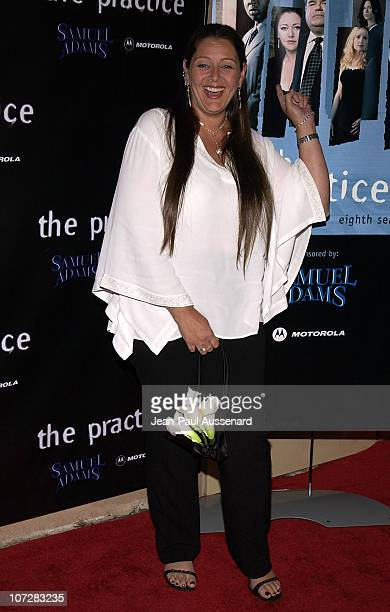 Camryn Manheim during David Kelley and The Cast of ABC's Hit Drama 'The Practice' Celebrate The Launch of Their Eight Season at Buffalo Club in Santa...