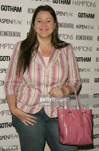 Camryn Manheim during Los Angeles Confidential Celebrates Gotham Magazine Cover Star Debra Messing at The Maple Drive Atrium in Beverly Hills...