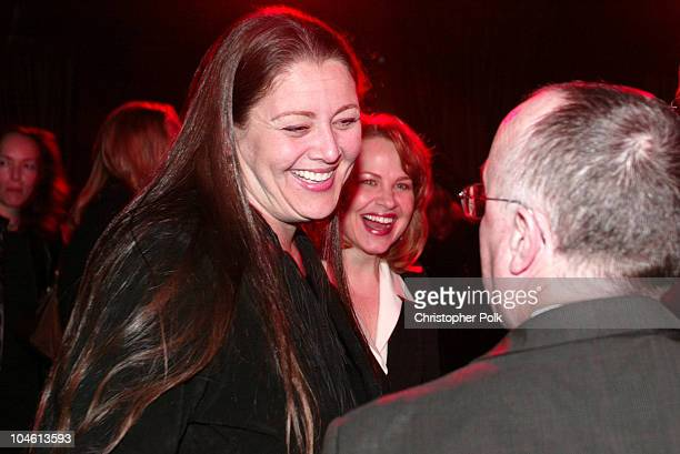Camryn Manheim during LA Premiere of HBO's series 'Six Feet Under' After Party at The Highlands in Hollywood CA United States