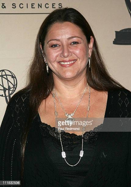 Camryn Manheim during The Academy of Television Arts Sciences Presents An Evening With 'Boston Legal' at Leonard H Goldenson Theater in North...