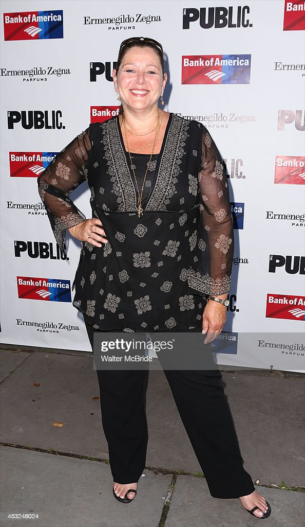 Camyrn Manheim attends the The Public Theatre's Opening Night Performance of 'King Lear' at the Delacorte Theatre on August 5, 2014 in New York City.