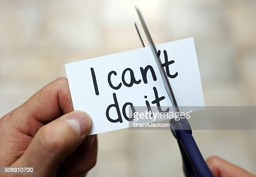 I can do it : Stock Photo